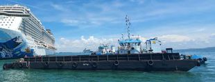 120ft Deck Cargo Barge (Ballastable)