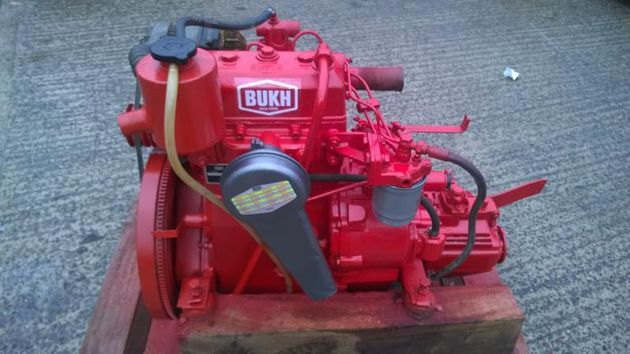 Bukh DV24 24hp Keel Cooled Narrowboat Engine Package