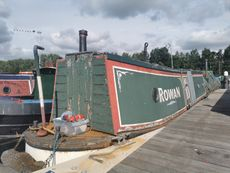 Project Boat 58' Mid-Engine Trad with mooring at Roydon Marina Village