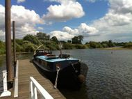 """Dutch Style Barge """"HANA"""" Pickwell and Arnold"""