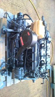 Lister LPWS4 39hp Marine Diesel Engine Package