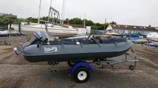 WHALY 370, 9.9 YAMAHA,GOOD TRAILER ,EXCELLENT