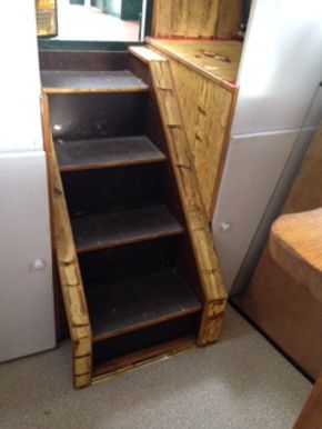 Steps and Cupboards