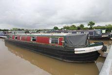 Jabez, 49ft Cruiser stern narrowboat built by Springer