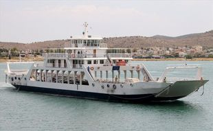 DOUBLE END ROPAX FERRY