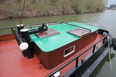 Well maintained motorboat