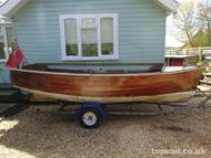 1973 Goodwin Clinker Open Launch Project & Trailer - topsail.co.uk