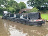 Lorna Jean 60ft 1995 John White 4 berth semi-trad stern narrowboat