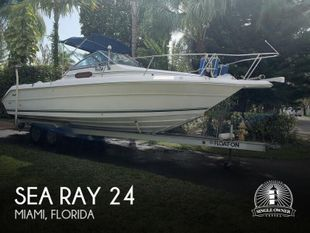 1990 Sea Ray Laguna 24 Flush Deck Cuddy