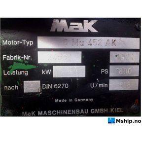 MaK 6Mu 452 AK    mship.no