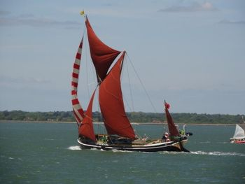 Thames sailing barge Alice