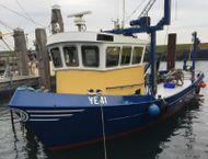 Steel Inshore Trawler Workboat