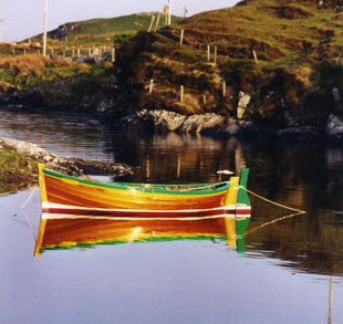 16'  Wooden Grimsay Boat