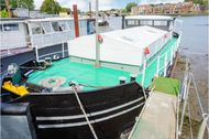 Humber Barge on permanent mooring - Southampton