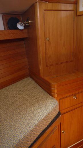 wardrobe in fwd cabin
