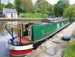 58ft Trad 'Shannon' Vintage Engine