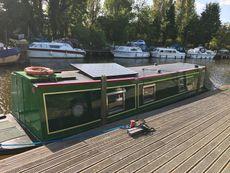 36 foot trad built narrowboat.