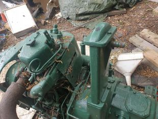 Petter pj  barge engine gearbox