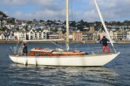 35ft. MORGAN GILES WEST CHANNEL CLASS SLOOP