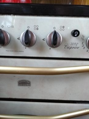 Oven - detail