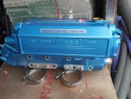 Nanni 4 cylinder heat exchanger