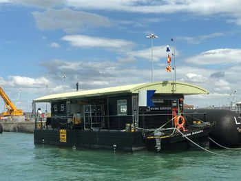 Commercial Dive Barge