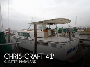1974 Chris-Craft 410 Commander