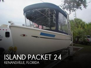 2009 Island Packet Seascape L24e Electric Launch