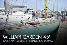 1956 William Garden 45 Yawl