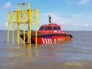 UXO Survey Catamaran with MOONPOOL
