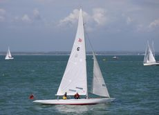 Daring - 5.5m one design sailing yacht based in Cowes, Isle of Wight
