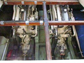 Princess 37 motor cruiser - Engine