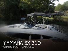 2010 Yamaha SX 210