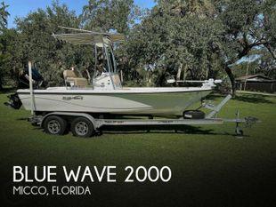 2018 Blue Wave Purebay 2000 SL