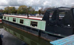 """55ft 2004 """"Merry May"""" Narrowboat"""