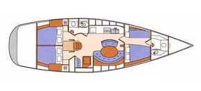 2005 Beneteau First 47.7 Layout