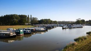Moorings available at White Mills Marina