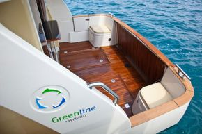 Manufacturer Provided Image: Greenline 33 Cockpit