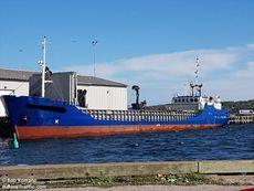 Coastal Cargo Vessel