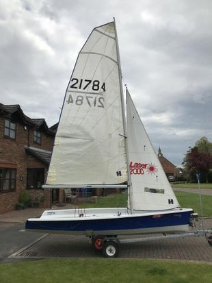 Laser 2000, 2006 Hull