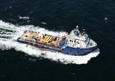 Offshore Support Vessel with Fuel Bunkering