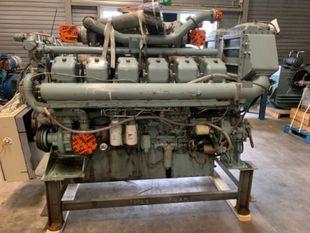 MITSUBISHI MARINE ENGINE - S12A2 - MPTK / 1940 RPM / 701 KW / 940 BHP