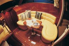 Viki 32 Sedan Saloon Double Cabin Layout