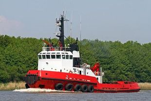 Twin Screw Tug for Sale - 41.1t Continuous BP