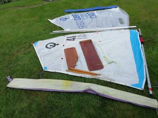 Spars, Foils, Sails & hull fittngs