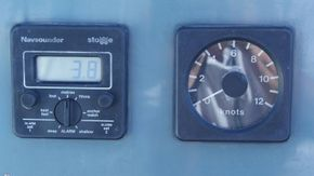 Echo Sounder and speed