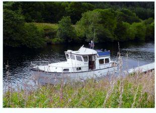 1982 Colvic Trawler Yacht 38