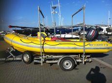 UK Built 5M TORNADO support Boat – 60HP