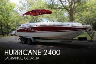 2014 Hurricane SunDeck 2400 OB
