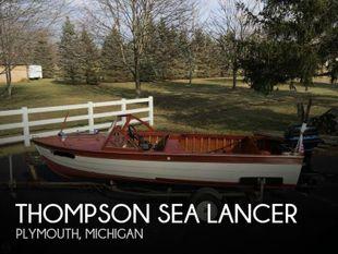 1957 Thompson Sea Lancer